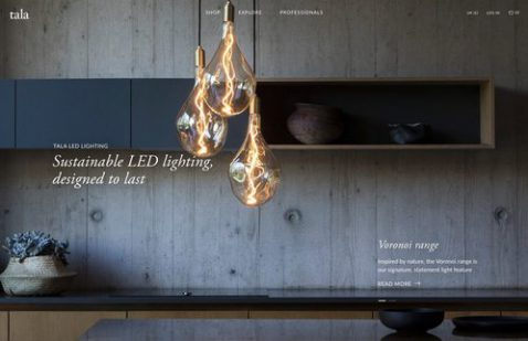 Overview of Tala lighting