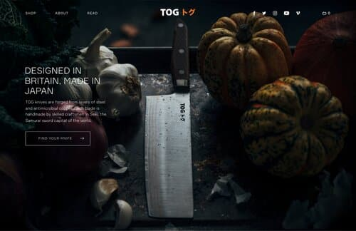 Overview of TOG Knives